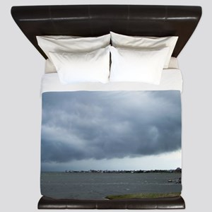 Storm Approaching Over Water King Duvet