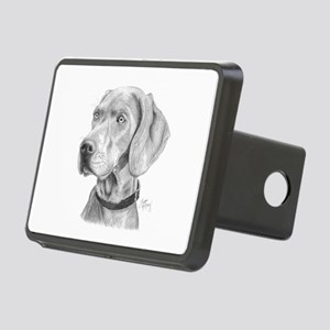 Weimaraner Rectangular Hitch Cover
