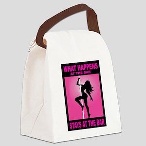 POLE DANCER Canvas Lunch Bag