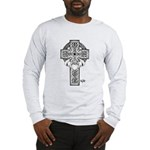 Claddagh Cross Long Sleeve T-Shirt