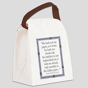 He Hath Not Eat Paper Canvas Lunch Bag