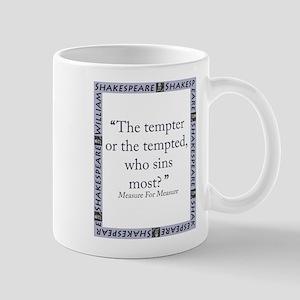 Tempter Or The Tempted 11 oz Ceramic Mug