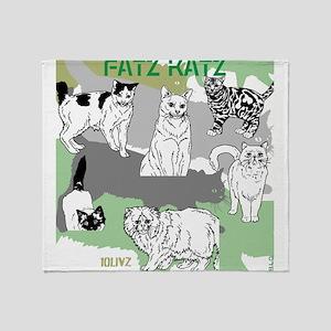 Fatz Katz Throw Blanket