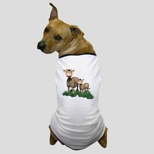 Cow3 Dog T-Shirt