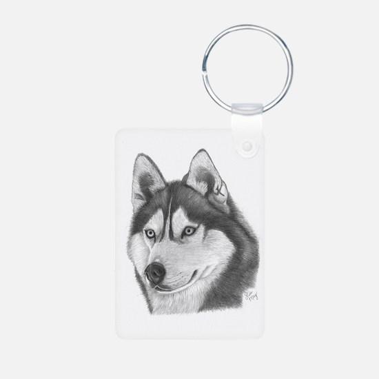 Siberian Husky Keychains