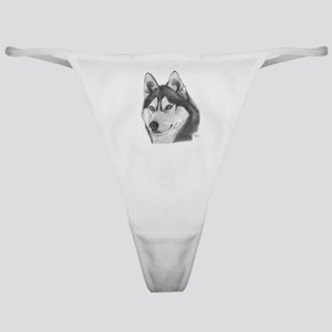 Siberian Husky Classic Thong