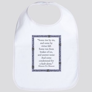 Some Rise By Sin Cotton Baby Bib