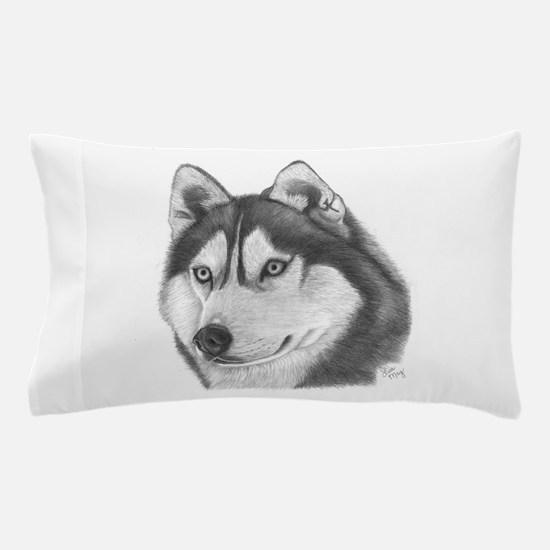 Siberian Husky Pillow Case