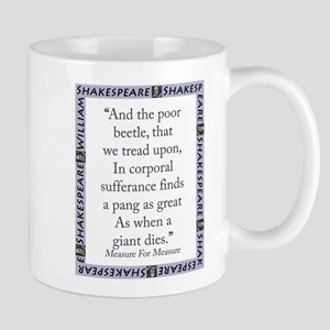 And The Poor Beetle 11 oz Ceramic Mug