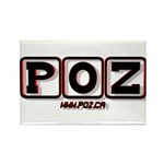 POZ Rectangle Magnet (100 pack)
