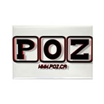 POZ Rectangle Magnets (10 pack)