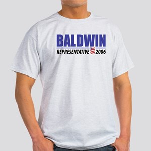 Baldwin 2006 Ash Grey T-Shirt