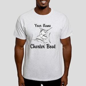 Custom Charter Boat Light T-Shirt