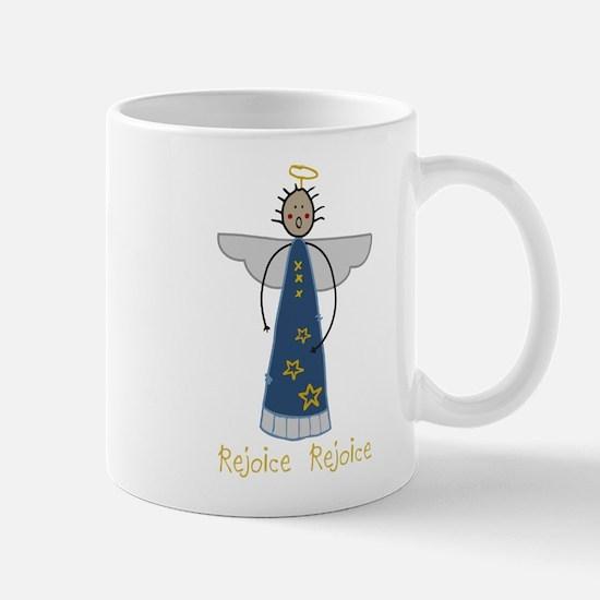 Rejoice Angel Mug