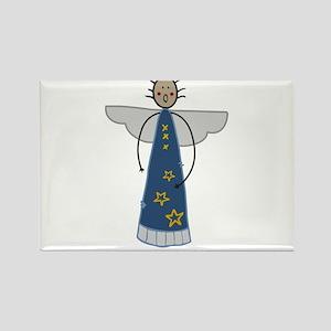 Rejoice Angel Rectangle Magnet