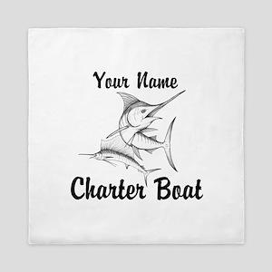 Custom Charter Boat Queen Duvet