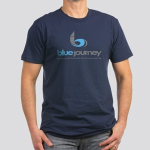 Blue Journey-Men's Fitted T-Shirt (dark)