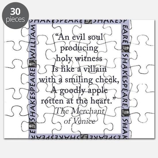 An Evil Soul Producing Puzzle