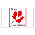 Canada, Sesquicentennial Sticker (Rectangle 10 pk)