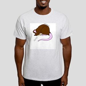 Sleepy Rat Ash Grey T-Shirt