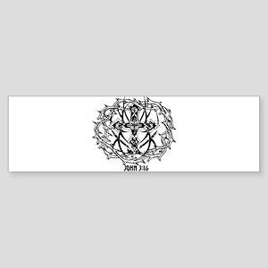 Sacrafice John 3:16 Sticker (Bumper)