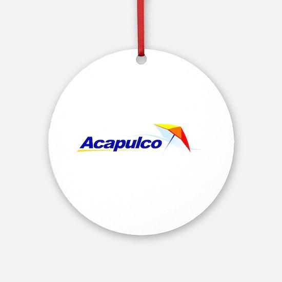 Acapulco Ornament (Round)