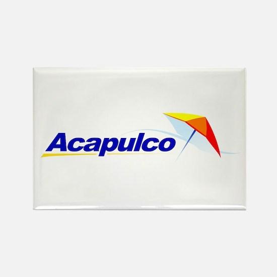 Acapulco Rectangle Magnet