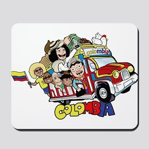 Colombian Chiva Mousepad