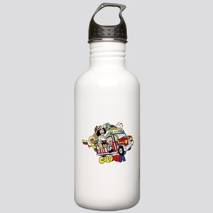 Colombian Chiva Stainless Water Bottle 1.0L