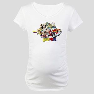 Colombian Chiva Maternity T-Shirt