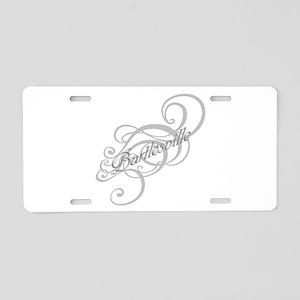 Bartlesville Graphic Aluminum License Plate