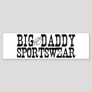 BIG DADDY FOOTBALL Bumper Sticker