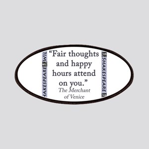 Fair Thoughts and Happy Hours Patch