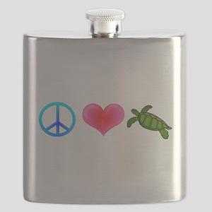 peaceloveturtle Flask