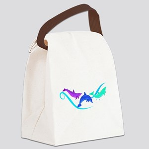 Peace in a Pod Canvas Lunch Bag