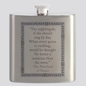 The Nightingale, If She Should Sing Flask