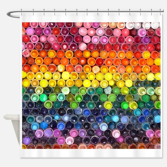 Color Full Shower Curtain