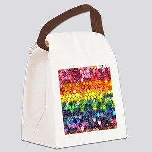 Color Full Canvas Lunch Bag