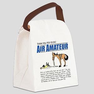 Air Amateur Canvas Lunch Bag