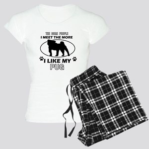 I like my Pug Women's Light Pajamas