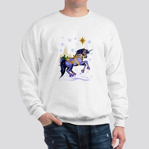 Bright Christmas Unicorn Sweatshirt