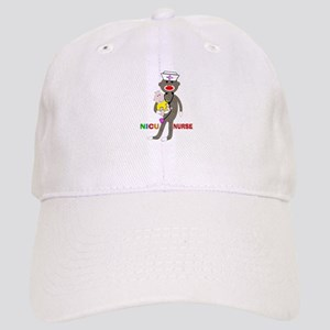 NICU Nurse sock monkey Cap