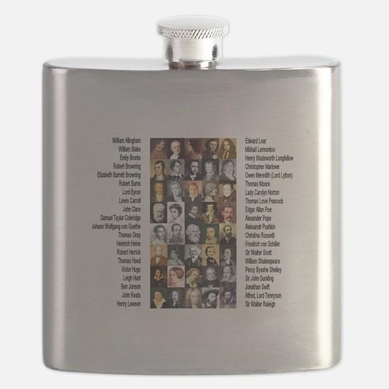 Famous Poets Flask