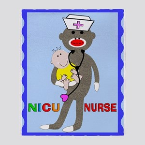 NICU Nurse Blanket Throw Blanket