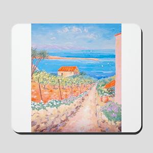 Mediterranean painting Mousepad