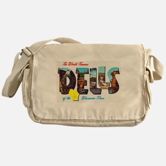 Dells Wisconsin Greetings Messenger Bag