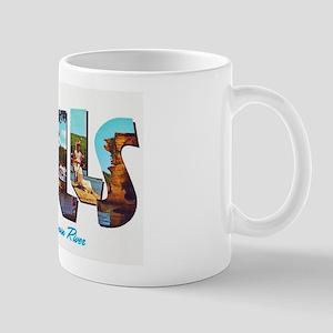 Dells Wisconsin Greetings Mug