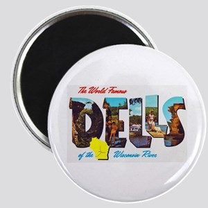 Dells Wisconsin Greetings Magnet