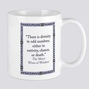 There Is Divinity In Odd Numbers 11 oz Ceramic Mug