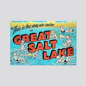 Great Salt Lake Utah Rectangle Magnet